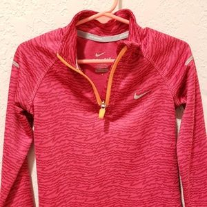 Nike Dry-Fit Toddler pull over zip up